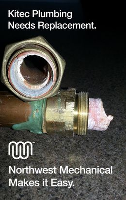 Kitec Plumbing Replacement